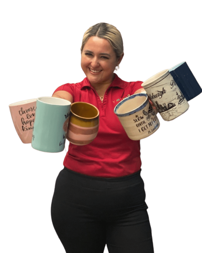 Deisy Hernandez has an obsession collecting mugs